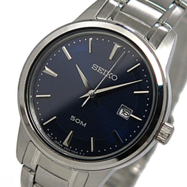 セイコー SEIKO クオーツ レディース 腕時計 SUR849 ブルー