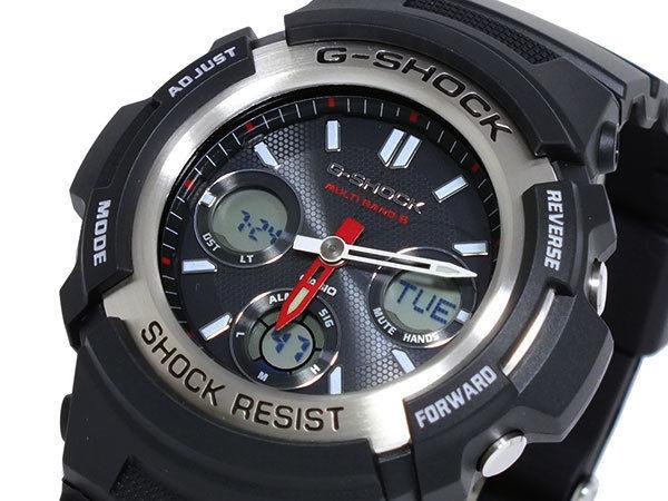 カシオ CASIO Gショック G-SHOCK 電波 ソーラー マルチバンド5 メンズ 腕時計 AWG-M100-1A