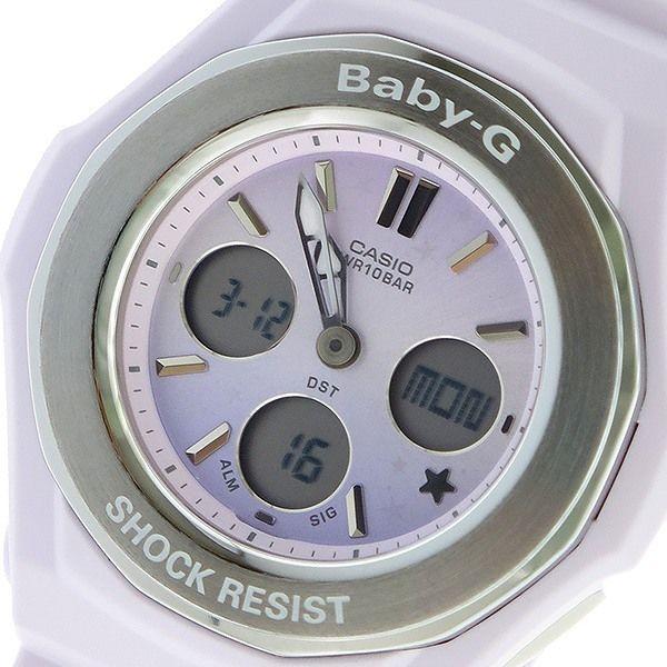 カシオ CASIO ベビーG BABY-G スターリースカイ クオーツ レディース 腕時計 BGA-100ST-4A ピンクパープル