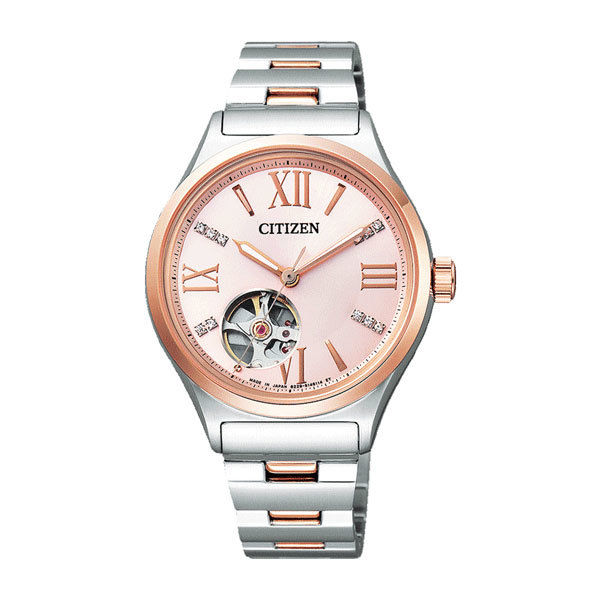 シチズン CITIZEN シチズンコレクション レディース 自動巻き 腕時計 PC1006-50W 国内正規