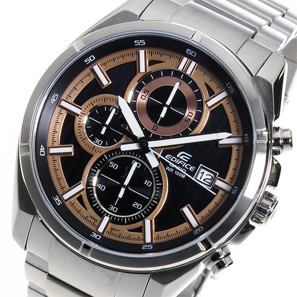 カシオ エディフィス クロノ クオーツ メンズ 腕時計 EFR-532D-1A5V ブラック