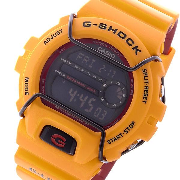 カシオ CASIO Gショック G-SHOCK Gライド G-LIDE デジタル メンズ 腕時計 GLS-6900-9 オレンジ