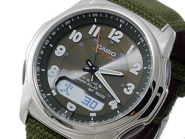 カシオ CASIO ウェーブセプター ソーラー 電波 メンズ 腕時計 WVA-M630B-3AJF