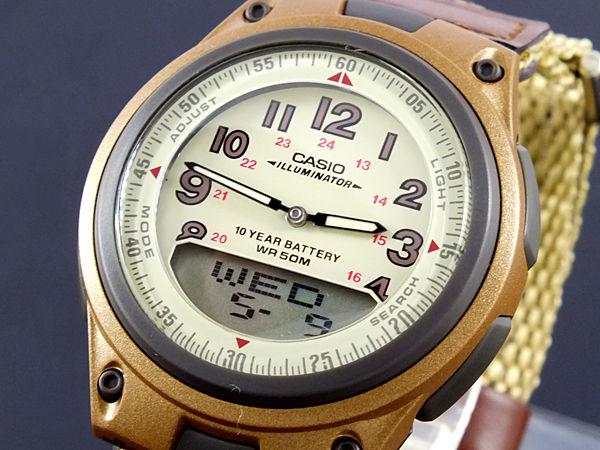 カシオ CASIO スタンダード メンズ 腕時計 AW-80V-5B