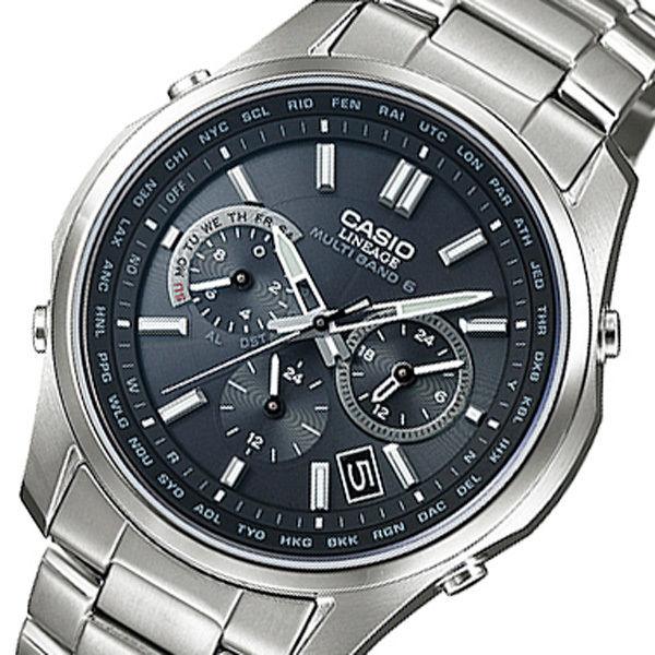 カシオ リニエージ 電波 ソーラー メンズ 腕時計 LIW-M610TDS-1AJF ブラック 国内正規