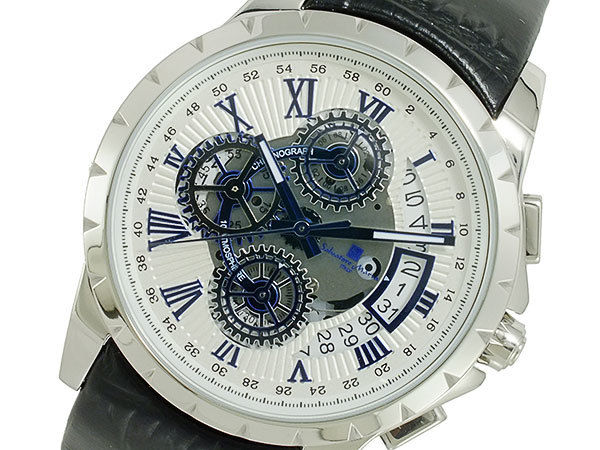 サルバトーレマーラ SALVATORE MARRA クオーツ メンズ 腕時計 SM13119S-SSWHBL