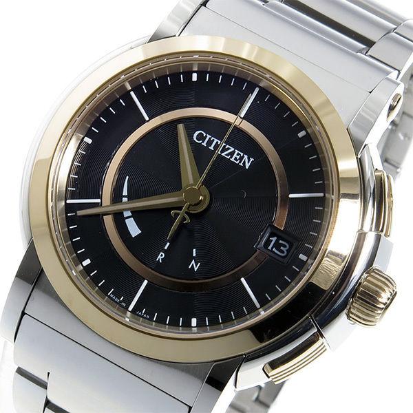 シチズン ソーラー電波 エコドライブ クオーツ メンズ 腕時計 CNG72-0012 ブラック
