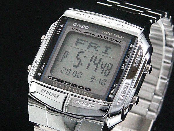 カシオ CASIO データバンク DATA BANK メンズ 腕時計 シルバー DB360-1A