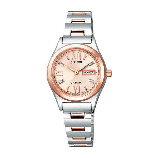 シチズン CITIZEN シチズンコレクション レディース 自動巻き 腕時計 PD7166-54W 国内正規