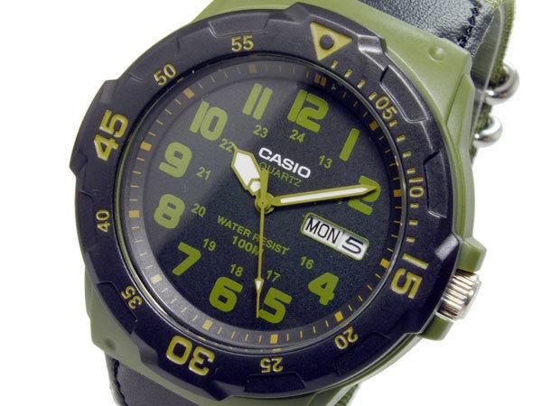 カシオ CASIO スポーツ アナログ メンズ 腕時計 MRW-200HB-3B