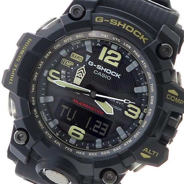 カシオ CASIO Gショック マッドマスター メンズ 腕時計 GWG-1000-1A ブラック