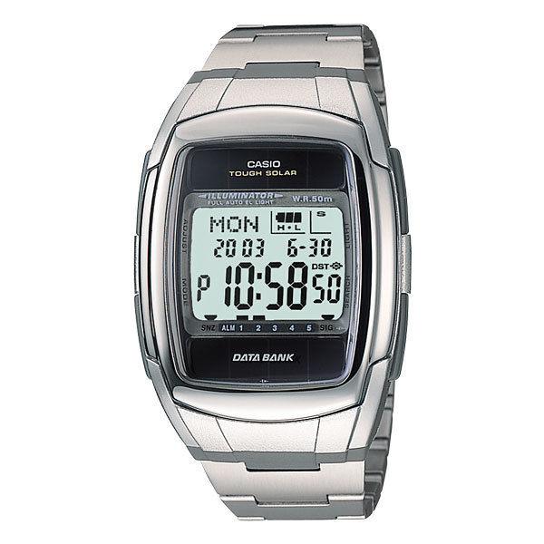 カシオ CASIO データバンク DATA BANK ソーラー メンズ 腕時計 DB-E30D-1A