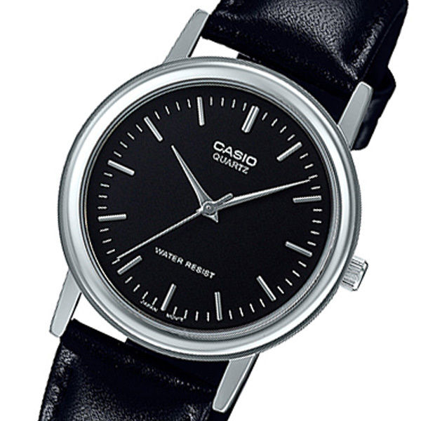 カシオ CASIO クオーツ メンズ 腕時計 MTP-1403L-1AJF ブラック 国内正規