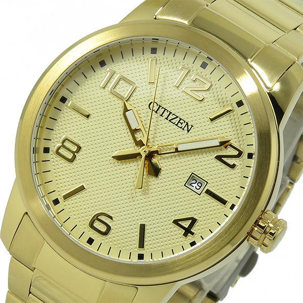 シチズン CITIZEN クオーツ メンズ 腕時計 BI1022-51P ゴールド