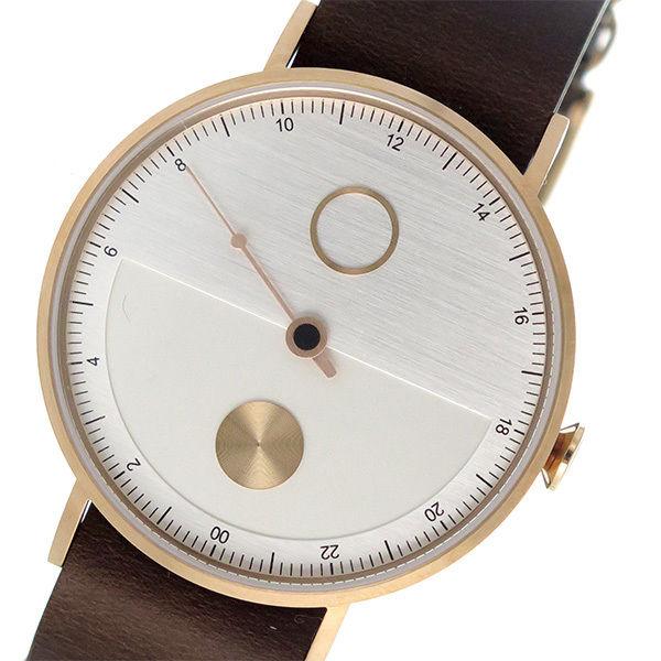 タックス TACS デイ&ナイト DAY&NIGHT 腕時計 TS1602E シルバー×ダークブラウン