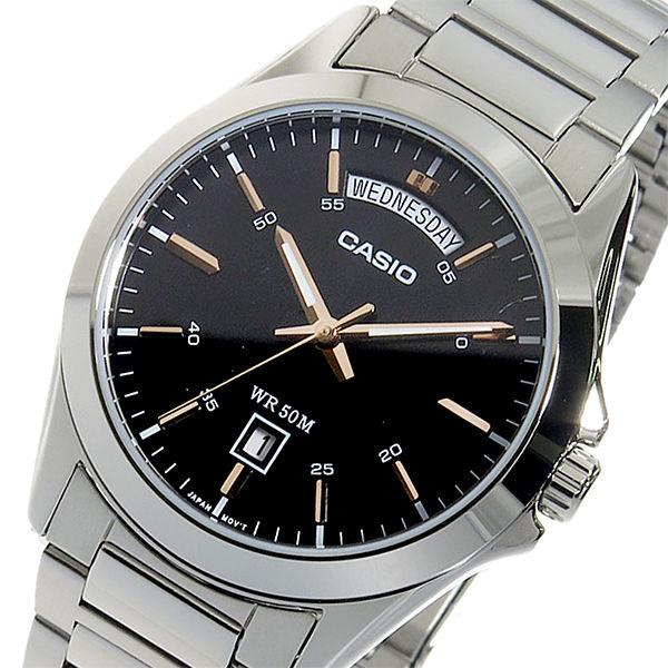 【希少逆輸入モデル】 カシオ CASIO クオーツ メンズ 腕時計 MTP-1370D-1A2VDF シルバー