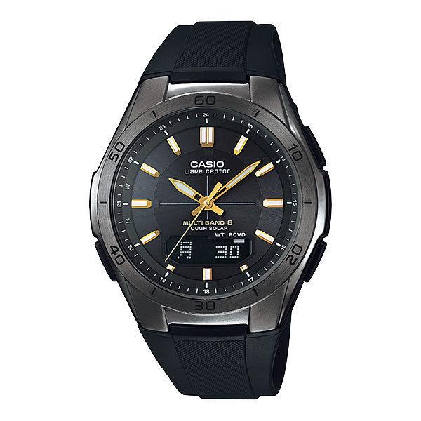 カシオ CASIO WAVE CEPTOR 電波 ソーラー メンズ 腕時計 WVA-M640B-1A2JF 国内正規