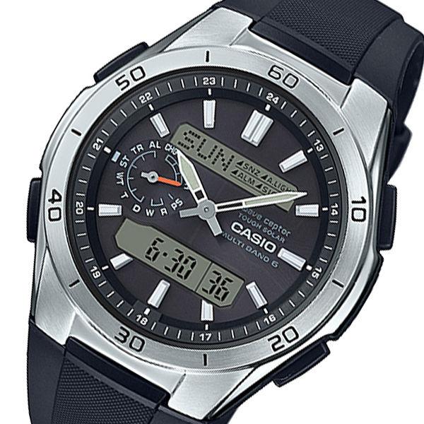 カシオ ウェーブセプター メンズ 電波 腕時計 WVA-M650-1AJF ブラック 国内正規