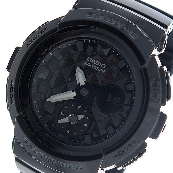 カシオ CASIO ベビーG BABY-G スタッズダイアル クオーツ レディース 腕時計 BGA-195-1A ブラック