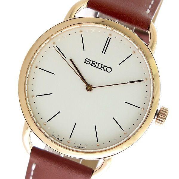セイコー SEIKO クオーツ レディース 腕時計 SUR238P1 ホワイト