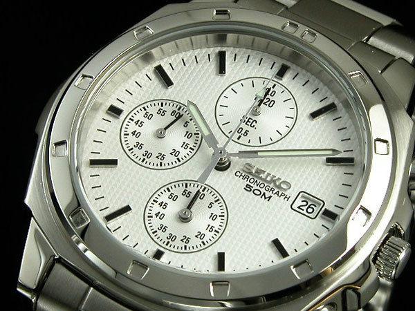 セイコー SEIKO クロノグラフ メンズ 腕時計 SND187P1