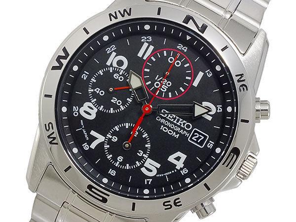 セイコー SEIKO クロノグラフ メンズ 腕時計 SND375P1