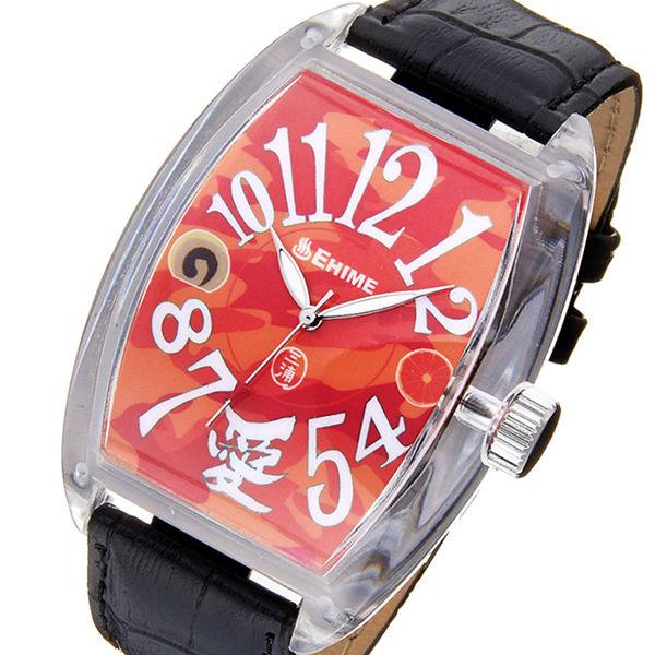 フランク三浦 ご当地三浦 愛媛県 愛をとりもどせ!モデル メンズ 腕時計 FM04NK-EHMBK