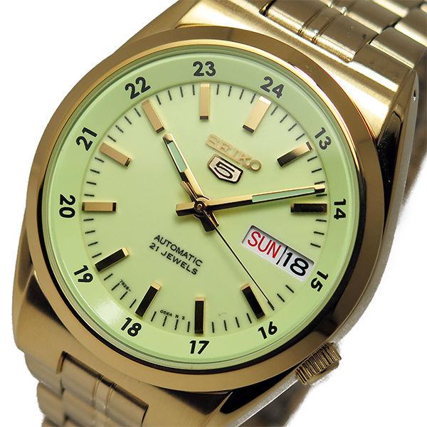 セイコー SEIKO セイコー 5 スポーツ 自動巻き メンズ 腕時計 SNK578K1 グリーン