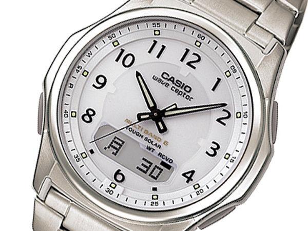 カシオ WAVE CEPTOR 電波 メンズ 腕時計 ホワイト WVA-M630TDE-7AJF 国内正規