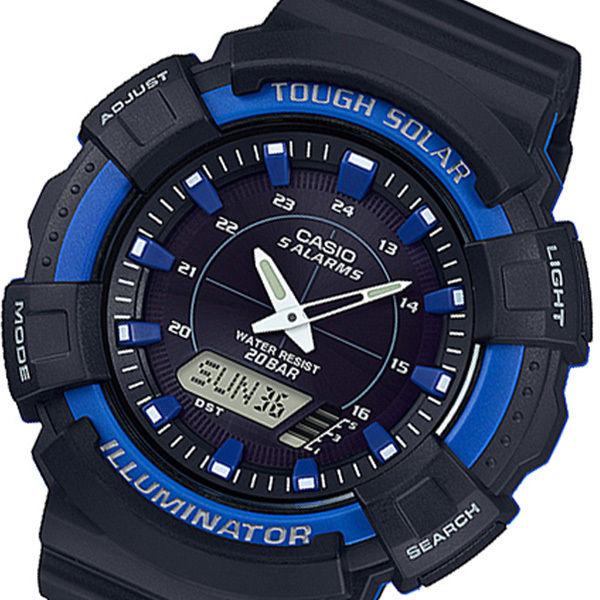 カシオ CASIO アナデジ クオーツ メンズ 腕時計 AD-S800WH-2A2JF ブラック 国内正規