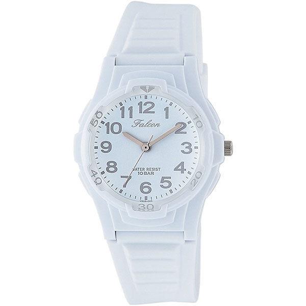 シチズン CITIZEN キューアンドキュー Q&Q ファルコン 10気圧防水 ユニセックス 腕時計 VS06-003 ホワイト