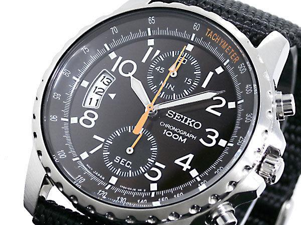 セイコー SEIKO クロノグラフ メンズ 腕時計 SNN079P2