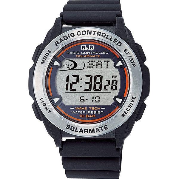 シチズン CITIZEN 電波ソーラー メンズ 腕時計 MHS7-300 ブラック