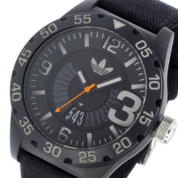 アディダス ADIDAS ニューバーグ NEWBURGH クオーツ メンズ 腕時計 ADH3157 ブラック