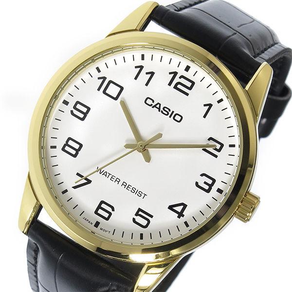 カシオ CASIO ベーシック クオーツ メンズ CASIO MTP-V001GL-7B ホワイト