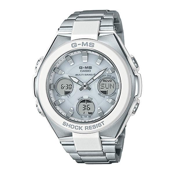 カシオ ベビーG ジーミズ G-MS アナデジ クオーツ レディース 腕時計 MSG-W100D-7AJF ホワイト 国内正規