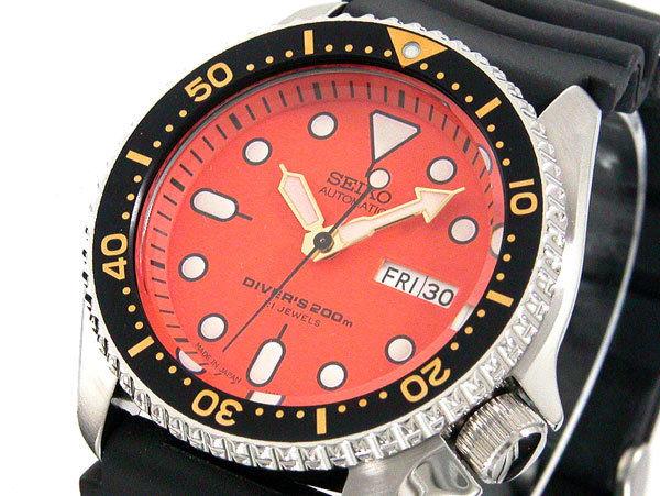 セイコー SEIKO オレンジボーイ ダイバー 自動巻き メンズ 腕時計 SKX011J