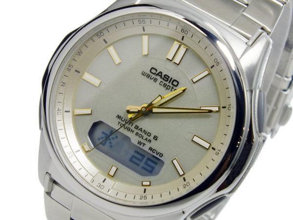 カシオ CASIO ウェーブセプター WAVE CEPTOR ソーラー メンズ 腕時計 WVA-M630D-9AJF