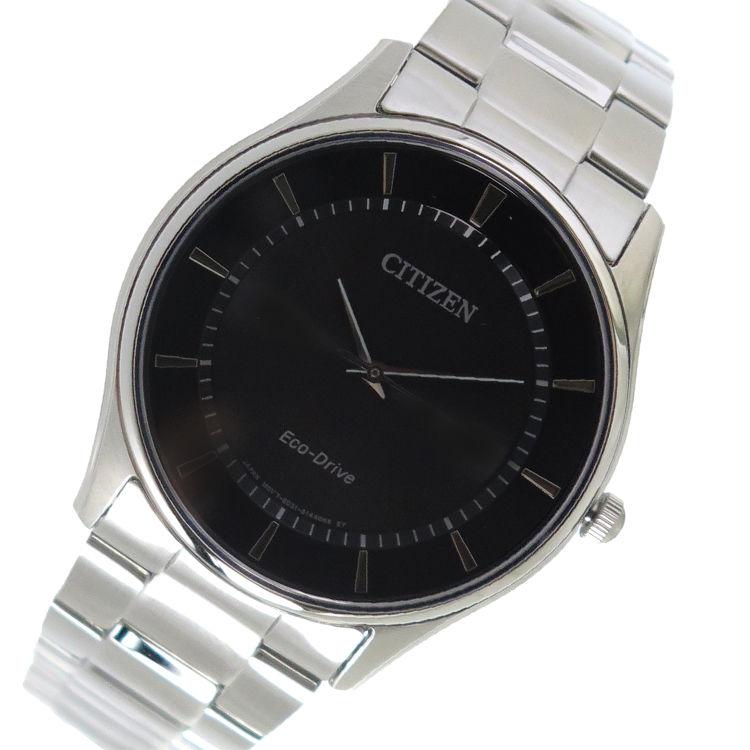 シチズン CITIZEN クオーツ メンズ 腕時計 BJ6481-58E ブラック