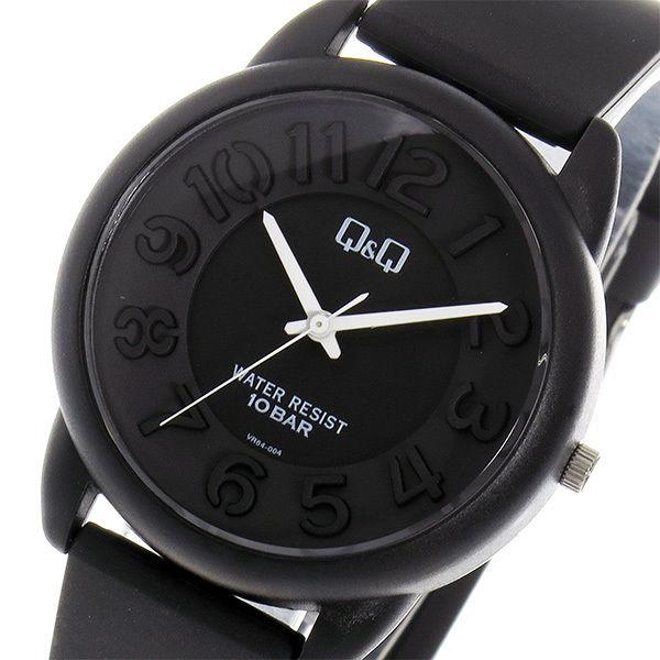 シチズン キューアンドキュー クオーツ ユニセックス 腕時計 VR64-004 ブラック