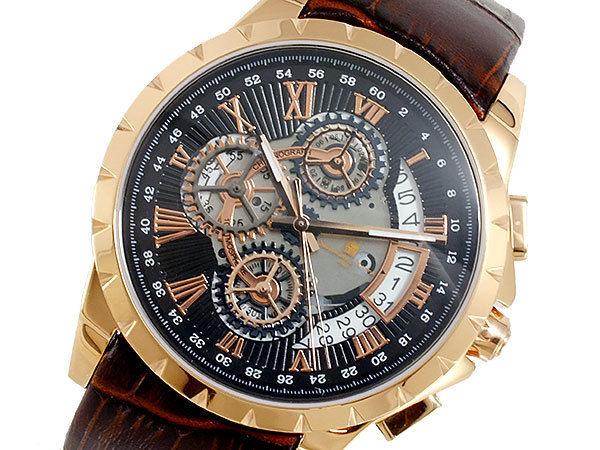 サルバトーレマーラ SALVATORE MARRA クオーツ メンズ 腕時計 SM13119S-PGBK