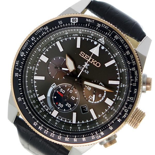 セイコー SEIKO プロスペックス PROSPEX ソーラー メンズ 腕時計 SSC611P1 ダークグレー