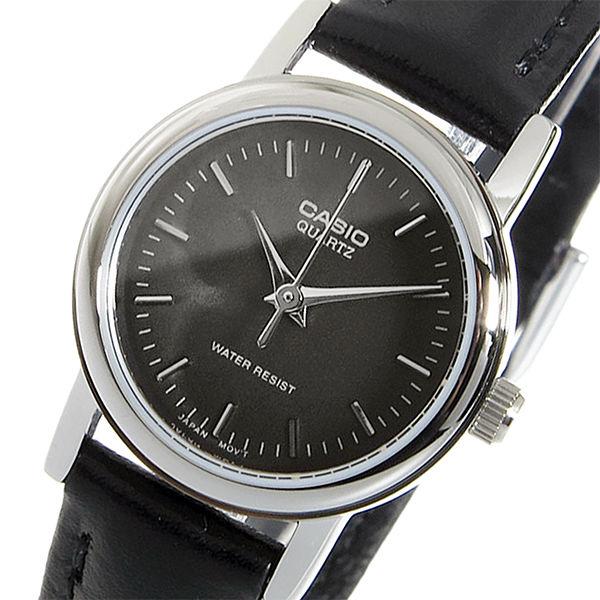 カシオ CASIO クオーツ レディース 腕時計 LTP-1095E-1A ブラック