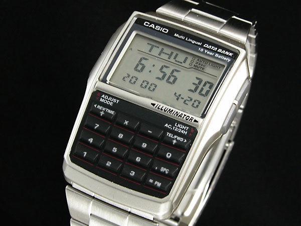 カシオ CASIO データバンク DATA BANK ユニセックス 腕時計 DBC32D-1
