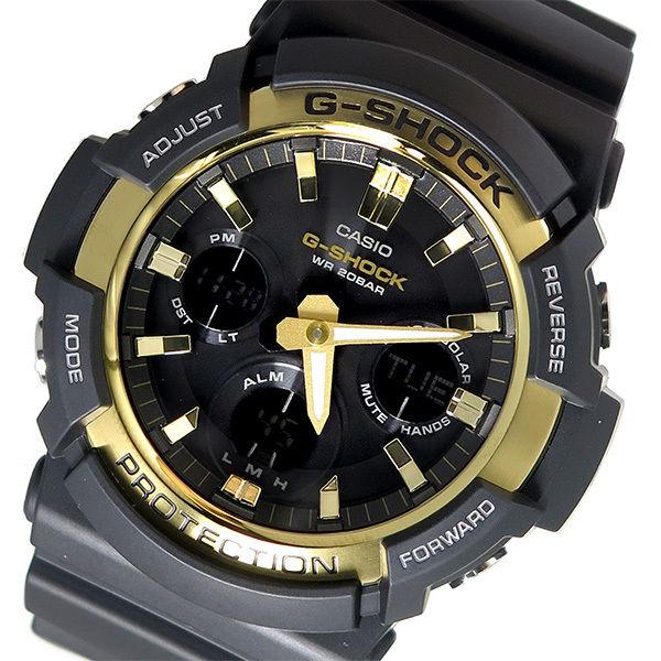 カシオ CASIO Gショック G-SHOCK クオーツ メンズ 腕時計 GAS-100G-1A ブラック/ゴールド