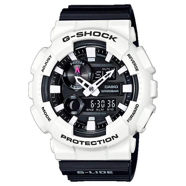 カシオ CASIO Gショック G-SHOCK Gライド G-LIDE クオーツ メンズ 腕時計 GAX-100B-7A ブラック/ホワイト