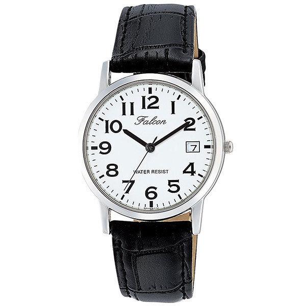 シチズン CITIZEN キューアンドキュー Q&Q ファルコン メンズ 腕時計 D018-304 ブラック