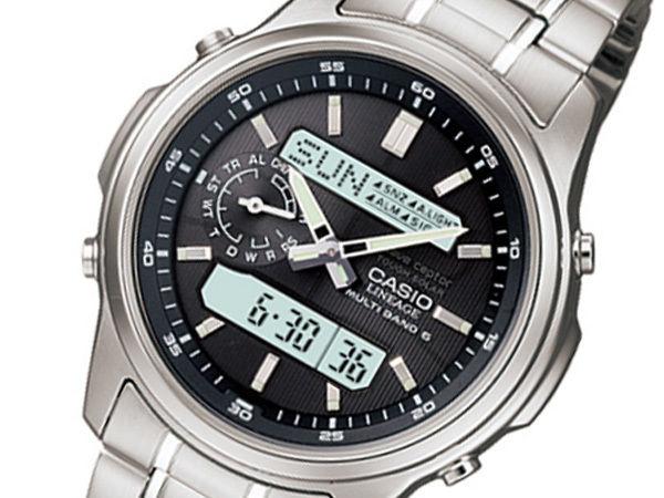 カシオ CASIO リニエージ 電波 ソーラー メンズ 腕時計 LCW-M300D-1AJF 国内正規