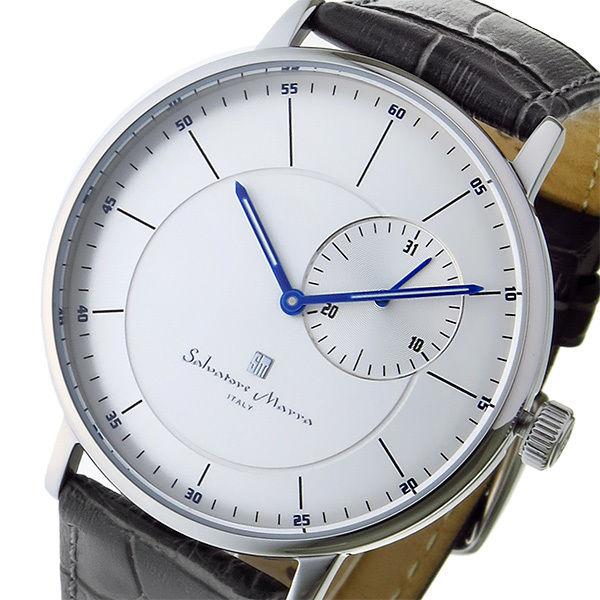 サルバトーレ マーラ SALVATORE MARRA クオーツ メンズ 腕時計 SM17105-SSSV シルバー