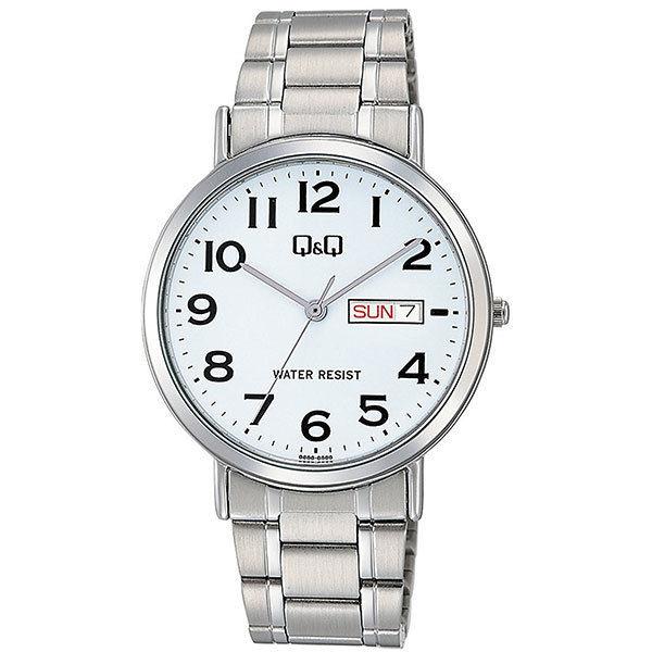 シチズン CITIZEN キューアンドキュー Q&Q メンズ 腕時計 A202-204 シルバー